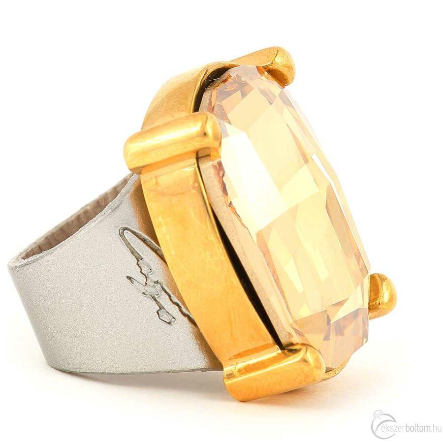 Cango & Rinaldi Dukai Regina gyűrű 1473 ezüstszínű