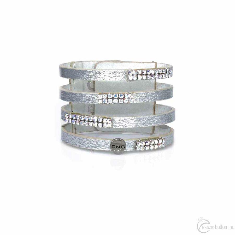 CNG karkötő 66 ezüstszínű
