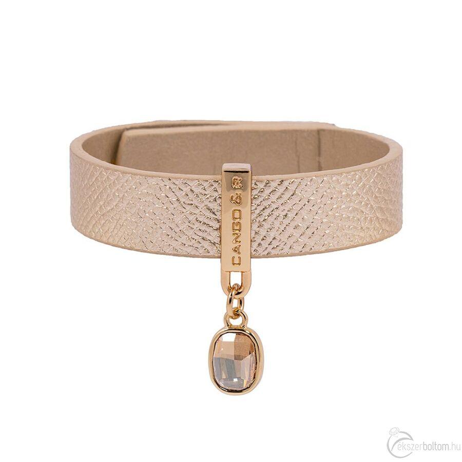 Cango & Rinaldi Magic arany karkötő arany színű díszítéssel, arany kristállyal