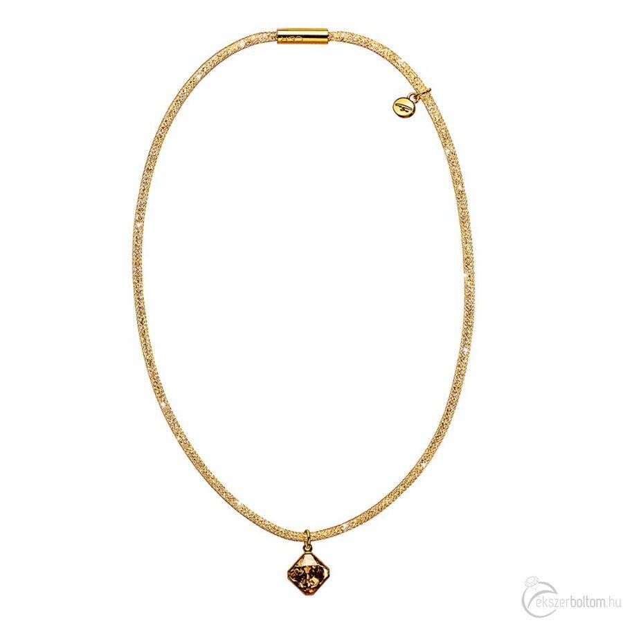 SD13NY-AR Stardust by Cango & Rinaldi arany színű, kristálymedálos nyaklánc